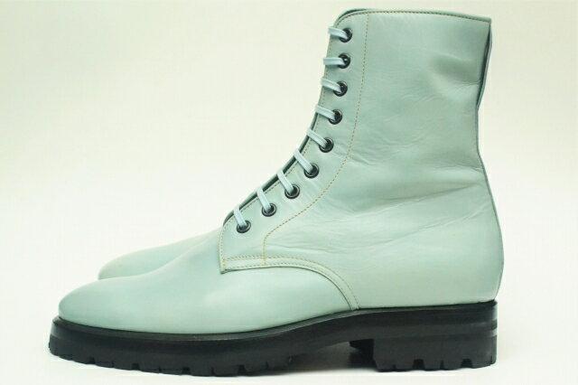 ブーツ, その他 NAMACHEKO ENZO BONAFE High Derby Shoes - Kangaroo Leather col.Fade Blue