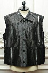"""NAMACHEKO """" Qlo Vest """" ナマチェコ プリントベスト col.Onyx Black"""