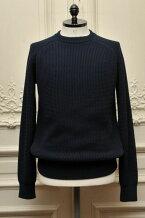 "CristaSeya���ꥹ������(���)""ShiftedSweater""Edition6col.Navy"