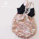 【メール便送料無料!】ベビー 女の子ベビーロンパース 夏物半袖 ノースリーブ 70cm シンプル上品可愛い