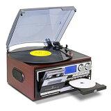 ★最大43倍+クーポン★ マルチオーディオレコーダープレーヤー MA-89 マルチプレーヤー レコード カセットテープ CD デジタル録音 マルチオーディオプレイヤー