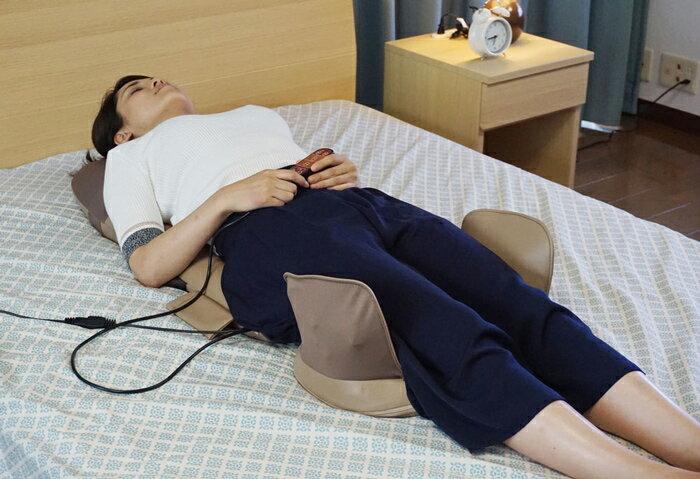 ライフフィット Life101 シートベッド 寝て使える マッサージ機 マッサージシート マッサージャー 電動マッサージ機 座椅子マッサージャー