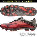 サッカー スパイク 【ミズノ/MIZUNO】バサラ102 MD(P1GA176309)レッド×ブラック