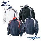 野球 一般 冬用 ミズノ Vジャン 52WW383 ハーフZIP ジャケット 長袖 09ジャパンモデル 冬物 防寒 メンズ