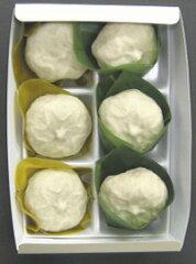 賞味期限は冷蔵で2日間冷凍で2週間、解凍は自然解凍でこしあん、柚子あん二色の詰め合わせ  ...