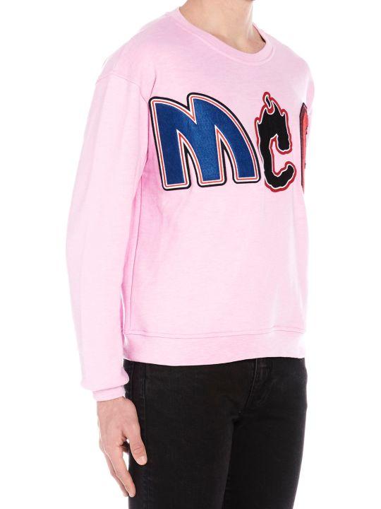 アレキサンダー・マックイーン トップス メンズ【McQ Alexander McQueen Sweatshirt】Pink