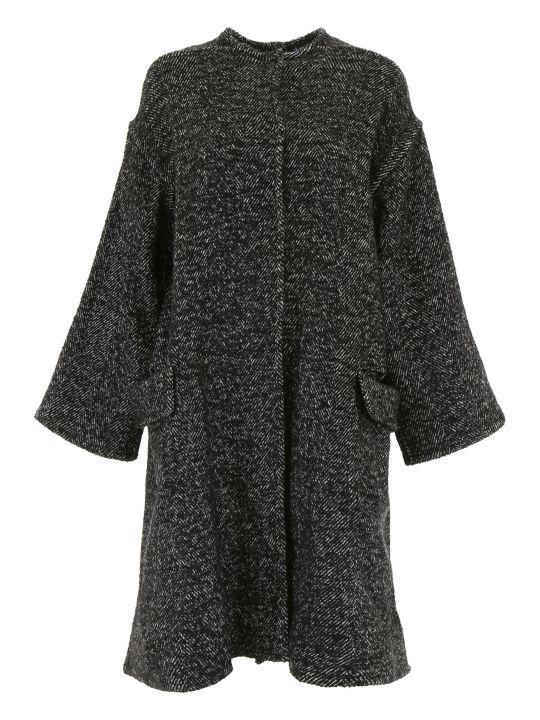 ジャケット アウター レディース【Ava Adore Reversible Coat With Mink】NERO BIANCO|Nero