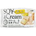 マツモトキヨシ楽天市場店で買える「アサヒグループ食品株式会社 クリーム玄米ブラン 豆乳カスタード 2枚X2袋」の画像です。価格は112円になります。