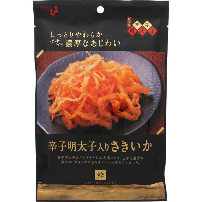 井上食品『umi no sachi 粋 辛子明太子入りさきいか』