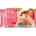 マツモトキヨシ楽天市場店で買える「アサヒグループ食品株式会社 クリーム玄米ブラン ベリーベリー&グラノーラ 2枚X2袋」の画像です。価格は122円になります。