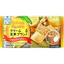マツモトキヨシ楽天市場店で買える「アサヒグループ食品株式会社 クリーム玄米ブラン レモンジンジャー 2枚X2袋」の画像です。価格は122円になります。