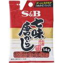 マツモトキヨシ楽天市場店で買える「ヱスビー食品 袋入り七味唐からし 14g」の画像です。価格は75円になります。