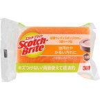 スリーエム ジャパン スコッチ・ブライト 抗菌ウレタンスポンジたわし(リーフ型/3層) オレンジ SS−72K
