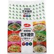 キユーピー ヘルシーキユーピー 玄米雑炊 セット 6食