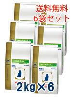 ロイヤルカナン猫用pHコントロールライト2kg(6袋セット)