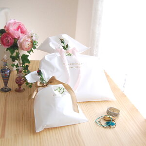 楽天1位★松並木の無添加ガーゼを贈る♪ホワイトキャンディーラッピング袋ギフト『日本製』