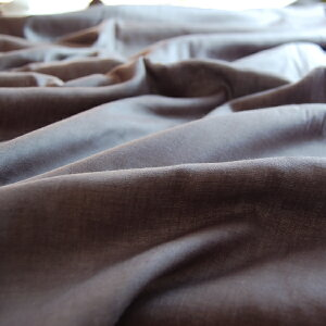 暖かい!ブラウンガーゼ綿毛布