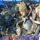 食用イシガニ 石蟹4kg 冷凍発送のみ 松島牡蠣屋