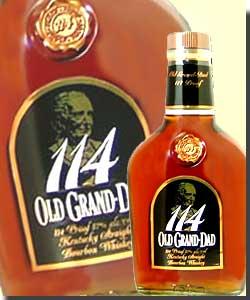 オールドグランダット 114 並行(箱なし)衝撃!アルコール度57%のバーボンウイスキーなんと...