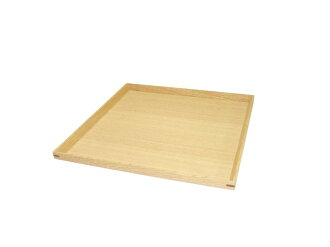 """""""Plain wood coating tamo isometric square tray' (wooden, Japanese-style, Western-style, simple, modern, natural, basin / Zen / Japan made)"""