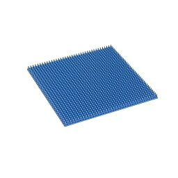 Pマット(シリコンマット)L ブルー(304X304X15MM) 1枚 サカセ化学工業 03-3391-00