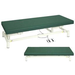 電動診察台(低床タイプ) ビニルレザーグレー TB-1151(60X190X35-73 1台 高田ベッド製作所 24-4982-0109