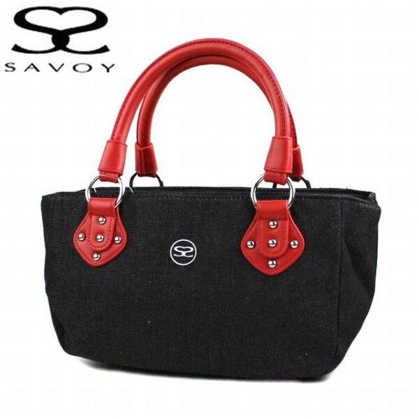 サボイSAVOYレディースバッグデニムトートバッグ(小)7SM18014クリスマス母の日プレゼント