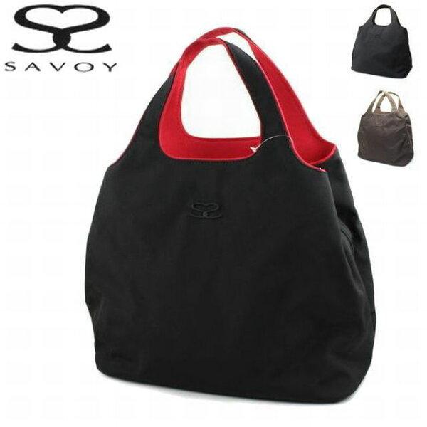 サボイSAVOYレディースバッグナイロン大型ハンド1SM0824ショッピングトートバッグ