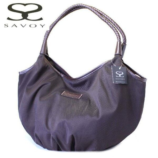 サボイSAVOYバッグマザーバッグとしても人気のナイロン巾着ショッピング(大)1SM0801