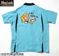 "KingLouieRAYONS/SBowlingShirt""LASVEGAS""StyleNo.KL37833"
