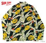 "SUNSURF×別注RAYONL/S""BANANALEAVES&FLOWERS""StyleNo.SS25756"