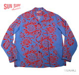 "SUNSURF×別注RAYONL/S""BLOOMINGBORDER""StyleNo.SS36827MGLS"