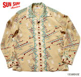 "SUNSURF×別注RAYONL/S""POLYNESIANCANOE""StyleNo.SS38323MGLS"