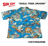 "SUNSURFサンサーフRAYONS/SSPECIALEDITIONFASHIONMART(KOSHO&CO.)""EAGLE,TIGER,DRAGON""StyleNo.SS37577"