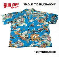 "SUNSURFサンサーフRAYONS/SSPECIALEDITIONFASHIONMART(KOSHO&CO.)""EAGLE,TIGER,DRAGON""StyleNo.SS37577"