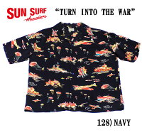 "SUNSURFサンサーフRAYONS/SSPECIALEDITIONOAHUGARMENTCO.""TURNINTOTHEWAR""StyleNo.SS37576"
