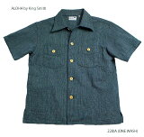 "SUNSURFサンサーフワークシャツアロハシャツCOTTONS/S実名復刻ALOHABYKINGSMITH""9.25ozPINEAPPLETWEEDWORKBLOUSE""StyleNo.SS38081"