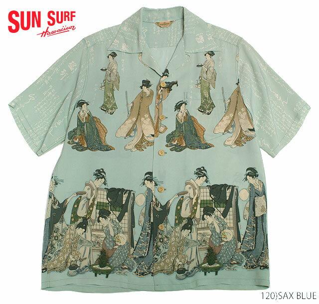 トップス, カジュアルシャツ SUN SURF RAYON SS SPECIAL EDITION KEMEHAMEHAUTAMAROS BEAUTY Style No.SS32948