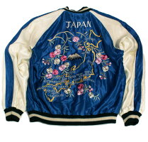 "TAILORTOYOテーラー東洋スカジャン刺繍ACETATESOUVENIRJACKET""DUELLINGDRAGONS×TIGERHEAD""No.TT14331-119"