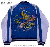 "港商KOSHO&CO.TAILORTOYOテーラー東洋ACETATE×ACETATESOUVENIRJACKETSPECIALEDITION""DRAGON&EAGLEPRINT""No.TT14633-125"