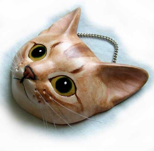 猫面 アビシニアン