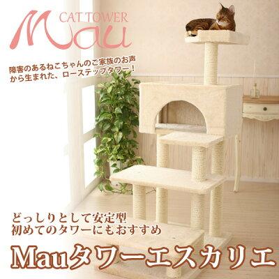 【送料無料】ジャンプが苦手な猫ちゃんやシニアの猫ちゃんにおすすめ!登りやすいローステップ...