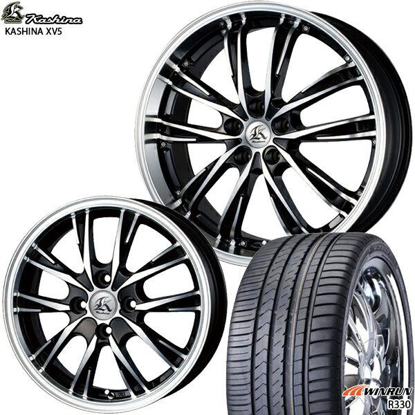 165/55R14インチテクノピアカシーナXV5WINRUNウィンランR330軽自動車用新品サマータイヤホイールセット