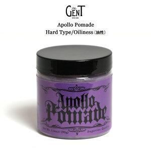 The GENT(ザ ジェント) Apollo Pomadeハードタイプ油性ポマード99g