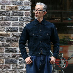 Workers Big Day 701BD Corduroy Jacket: Navy