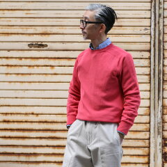 Inverallan Cotton Crewneck Sweater: Mattone