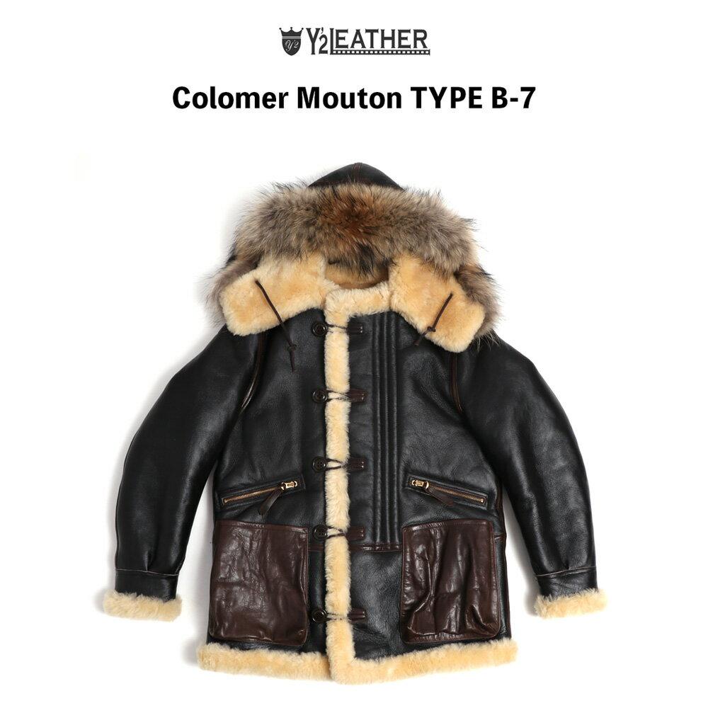 メンズファッション, コート・ジャケット Y2LEATHER COLOMER MOUTON Type B-7 B7
