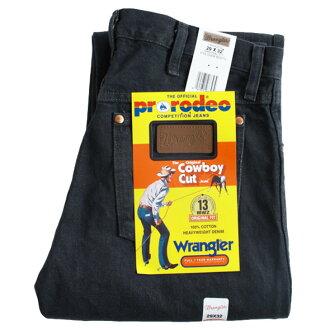 #13MWZ cowboy jeans and charcoal gray Wrangler ( Wrangler )