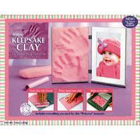 粘土で赤ちゃんやこどもペットの手形を記念に残そう♪自分で作る手形キット★クレイメモリアル...