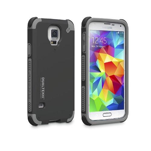 [日本正規代理店品] ピュアギア puregear DualTek Extreme Impact Case - Matte Black Samsung Galaxy S5 96759VRP ブラック